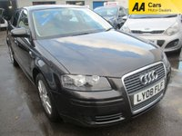 USED 2008 08 AUDI A3 1.6 SPECIAL EDITION 8V 5d 101 BHP