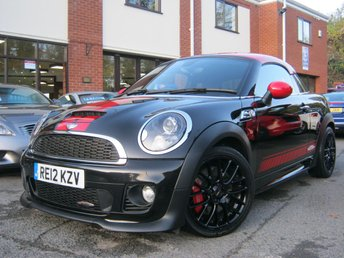 2012 MINI COUPE 1.6 JOHN COOPER WORKS 2d 208 BHP SOLD