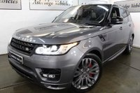 USED 2015 64 LAND ROVER RANGE ROVER SPORT 3.0 SD V6 Autobiography Dynamic 4X4 (s/s) 5dr DEPLOYABLES! HEADS UP! EURO6!