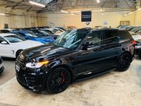 USED 2016 A LAND ROVER RANGE ROVER SPORT 3.0 SD V6 HSE 4X4 (s/s) 5dr URBAN KIT WHEELS STUNNER! PAN