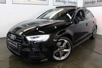 USED 2017 67 AUDI A3 2.0 TFSI Black Edition Sportback S Tronic quattro (s/s) 5dr PANORAMIC ROOF! 1 OWNER!