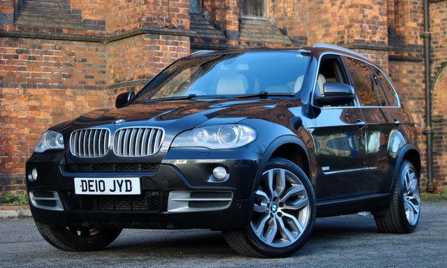 2010 10 BMW X5 3.0 XDRIVE35D 10-YEAR EDITION 5d 282 BHP [ 1 OWNER ]