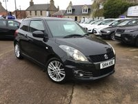 USED 2014 14 SUZUKI SWIFT 1.6 SPORT 3d 134 BHP EXTREMELY LOW MILES