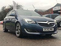 USED 2015 65 VAUXHALL INSIGNIA 1.6 SRI VX-LINE CDTI S/S 5d 134 BHP BLUETOOTH +   CRUISE CONTROL +  PRIVACY GLASS +   19 INCH ALLOYS +  VXR STEERING WHEEL +