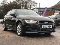 USED 2013 13 AUDI A3 2.0 TDI SE 3d 148 BHP ALLOY WHEELS +   BLUETOOTH +  CLIMATE CONTROL +   FULL YEAR MOT +  2 KEEPERS +