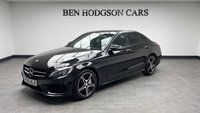 USED 2016 66 MERCEDES-BENZ C CLASS 2.1 C250 D AMG LINE PREMIUM 4d 204 BHP Satnav! Camera! Heated leather! Pan roof!