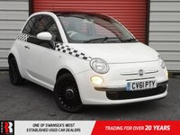 USED 2011 61 FIAT 500 1.2 LOUNGE 3d 69 BHP PAN ROOF!