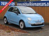2012 FIAT 500 1.2 LOUNGE 3d 69 BHP £4295.00