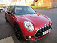 USED 2017 67 MINI CLUBMAN 1.5 COOPER 5d 134 BHP 1 PREV OWNER HIGH SPEC