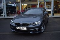 USED 2016 66 BMW 4 SERIES 2.0 420D M SPORT GRAN COUPE 4d 188 BHP FINANCE TODAY WITH NO DEPOSIT