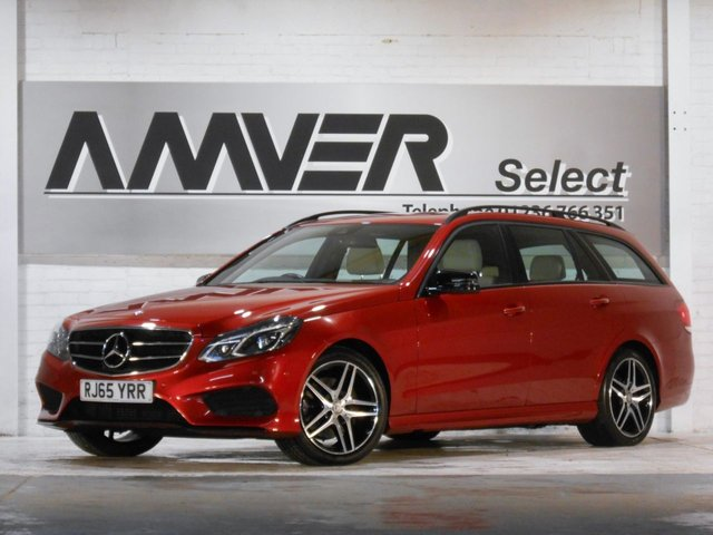 2015 65 MERCEDES-BENZ E-CLASS 2.1 E220 BLUETEC AMG NIGHT EDITION 5d 174 BHP