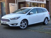 USED 2016 16 FORD FOCUS 1.5 ZETEC TDCI 5d 118 BHP FREE ROAD TAX SATELLITE NAVIGATION & APPEARANCE PACK