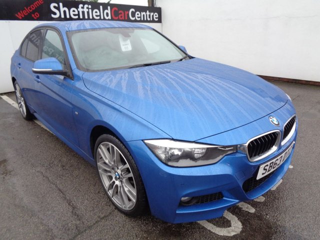 USED 2013 63 BMW 3 SERIES 2.0 320D XDRIVE M SPORT 4d 181 BHP 4x4 AWD 4WD Automatic half leather heated seats media pack park distance control front and rear  full service history supplied with full mot