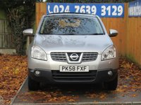 USED 2009 58 NISSAN QASHQAI 2.0 TEKNA 5d 140 BHP FSH, BLUETOOTH, FULL LEATHER