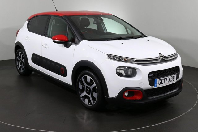 2017 17 CITROEN C3 1.2 PURETECH FLAIR S/S 5d 109 BHP ULEZ EXEMPT