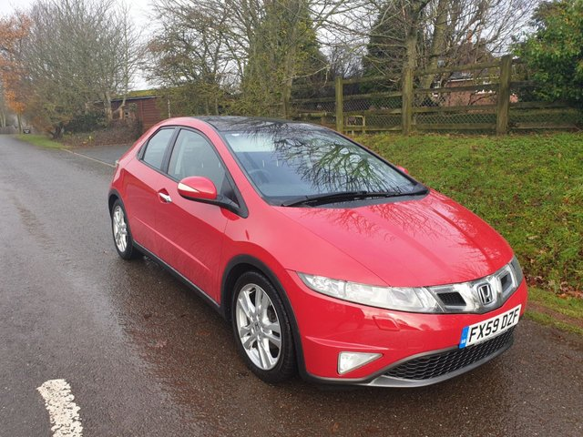 USED 2009 59 HONDA CIVIC 2.2 I-CDTI ES GT 5d 138 BHP **LONG MOT**FULL MAIN DEALER HISTORY**LOTS OF FEATURES**