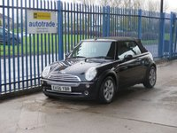 2006 MINI CONVERTIBLE 1.6 ONE 2d 89 BHP SOLD