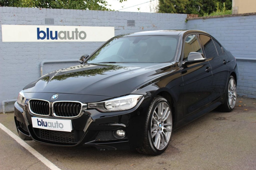 "USED 2013 62 BMW 320 i 2.0 XDRIVE M SPORT 4d 181 BHP 2 Owners, Service History, 19"" Diamond Alloys, Rear Sensors, Dual Climate & Cruise Control, Leather Interior, Bluetooth/USB/AUX Connectivity, Rear Tint, Voice Control"