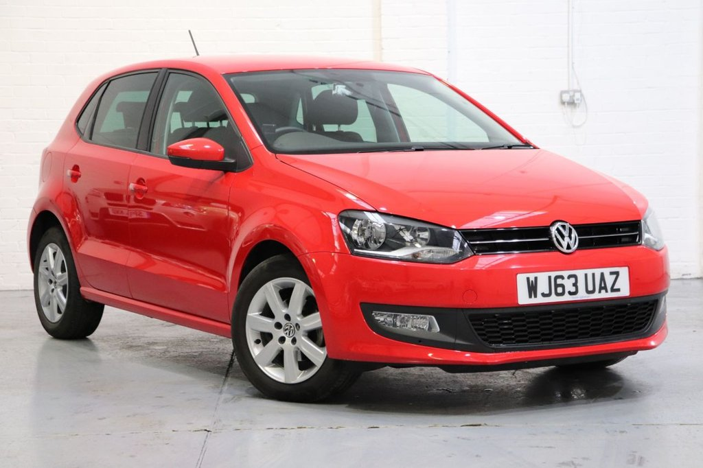 USED 2013 63 VOLKSWAGEN POLO 1.2 MATCH EDITION 5d 69 BHP 1 Owner + Full VW Service History
