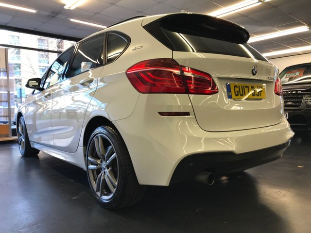 USED 2017 17 BMW 2 SERIES 1.5 225XE PHEV M SPORT ACTIVE TOURER 5d 134 BHP 1 PREVIOUS OWNER, FULL BMW SERVICE HISTORY,FRONT&REAR PARKING DISTANCE CONTROL, SAT NAV, BLUETOOTH PHONE AND AUDIO