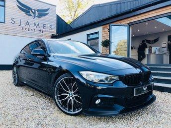 2016 BMW 4 SERIES 2.0 420D XDRIVE M SPORT GRAN COUPE 4d AUTO 188 BHP £18790.00