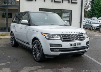 2015 LAND ROVER RANGE ROVER 5.0 V8 SV AUTOBIOGRAPHY 5d 510 BHP £58990.00