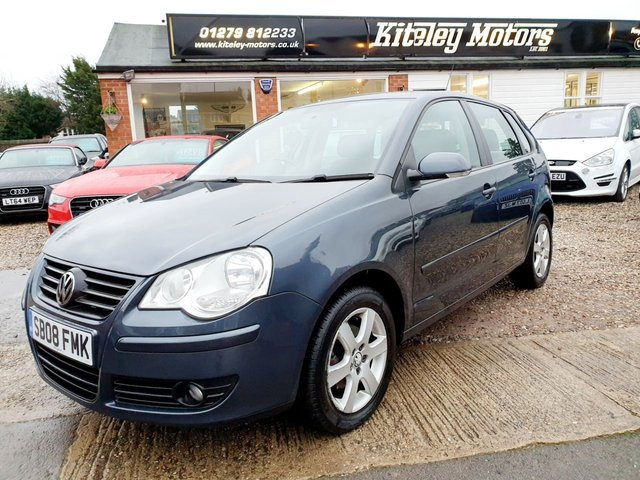 2008 08 VOLKSWAGEN POLO 1.4 MATCH 5DR AUTOMATIC PETROL