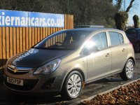USED 2013 13 VAUXHALL CORSA 1.2 SE 5d 83 BHP HEATED FRONT SEATS, AIR CON