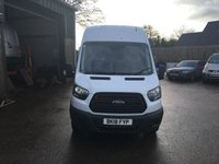USED 2018 18 FORD TRANSIT 2.0 350 L3 H3 Lwb high roof 129 BHP