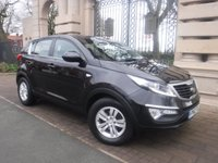 USED 2012 62 KIA SPORTAGE 1.7 CRDI 1 5d 114 BHP *** FINANCE & PART EXCHANGE WELCOME *** BLUETOOTH PHONE PARKING SENSORS AIR/CON CRUISE CONTROL CD PLAYER AUX & USB SOCKETS