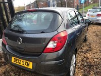 USED 2012 12 VAUXHALL CORSA 1.2 ACTIVE AC 5d 83 BHP GREAT FIRST TIME DRIVERS CAR: