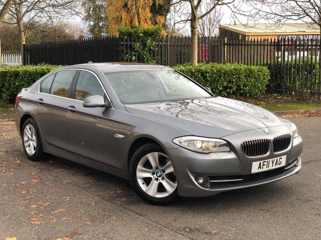 2011 11 BMW 5 SERIES 2.0 520D SE 4d 181 BHP