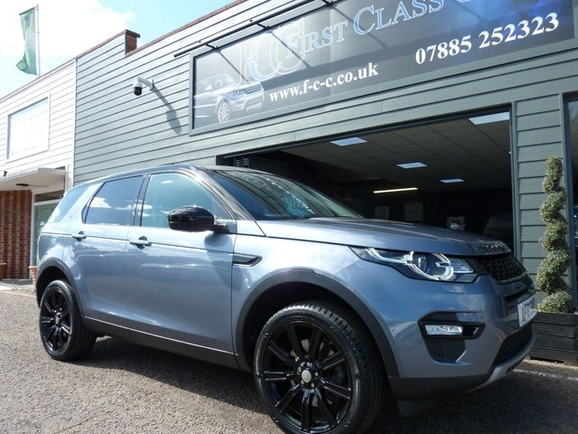 2018 18 LAND ROVER DISCOVERY SPORT 2.0 SD4 HSE 5d 238 BHP BLACK PACK