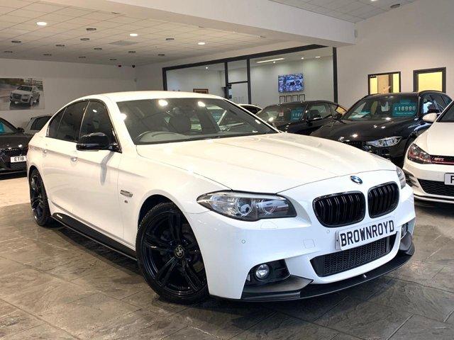 USED 2016 66 BMW 5 SERIES 2.0 520D M SPORT 4d 188 BHP ++M PERF KIT,SATNAV+FSH++