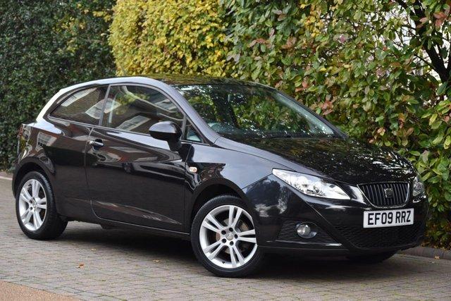 2009 09 SEAT IBIZA 1.4 SPORT 3d 85 BHP