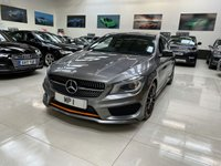 2015 MERCEDES-BENZ CLA 2.1 CLA 220 D ORANGEART 5d 174 BHP AUTO SHOOTING BRAKE ESTATE NAV £16995.00
