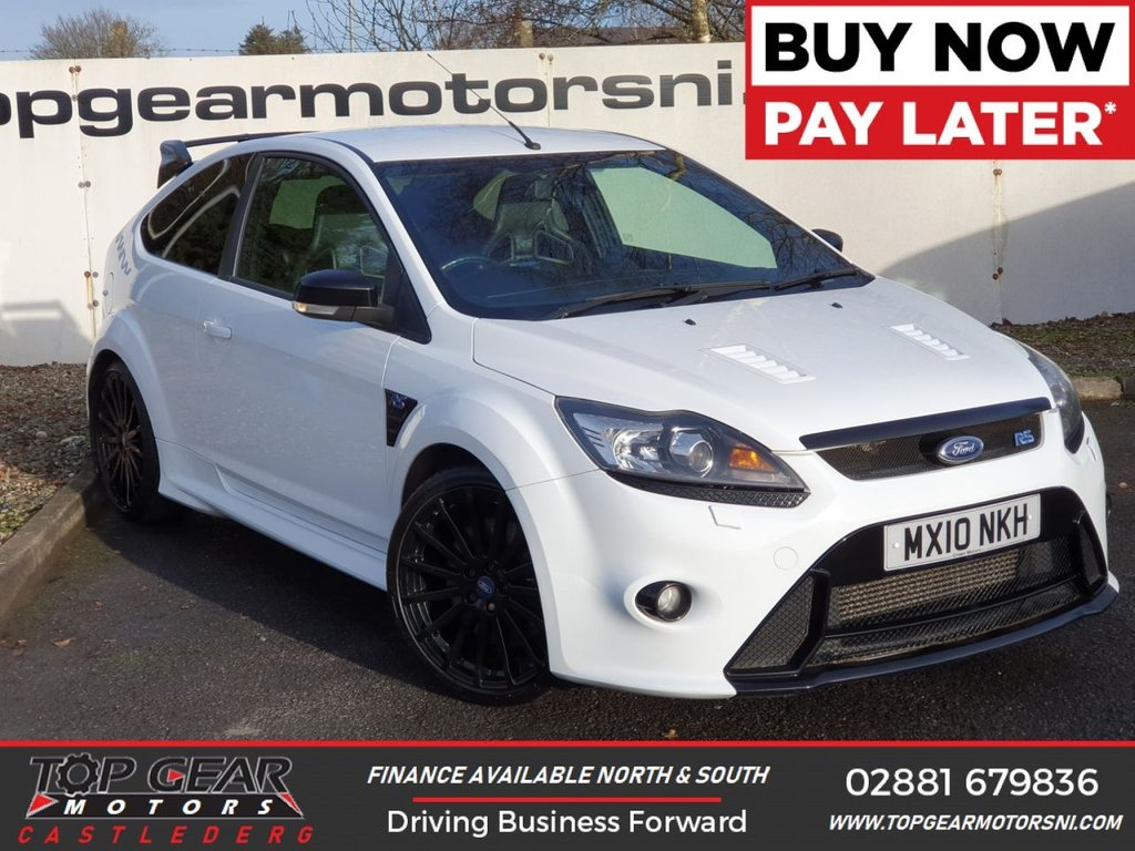 USED 2010 10 FORD FOCUS RS 2.5 300 BHP 3DR OVER 90 VEHICLES IN STOCK