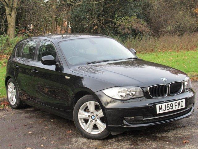 USED 2009 59 BMW 1 SERIES 2.0 116I SE 5d 121 BHP FULL HEATED LEATHER INTERIOR