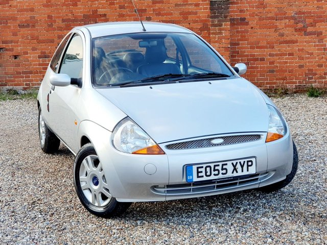 2006 55 FORD KA 1.3 LUXURY LEATHER SEATS LONG MOT