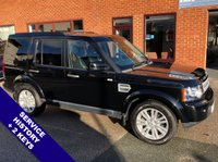 """USED 2012 12 LAND ROVER DISCOVERY 3.0 4 SDV6 XS 5DOOR 255 BHP Family 7-Seater     :     DAB     :     Sat Nav     :     USB     :     Cruise Control / Speed Limiter      Phone Bluetooth Connectivity   :   Climate Control / Air Conditioning   :   Heated Front Seats   Front/Rear Parking Sensors   :   19"""" Alloys  :   2 Keys   :   Service History"""