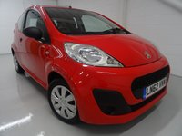 USED 2013 62 PEUGEOT 107 1.0 ACCESS 3d 68 BHP