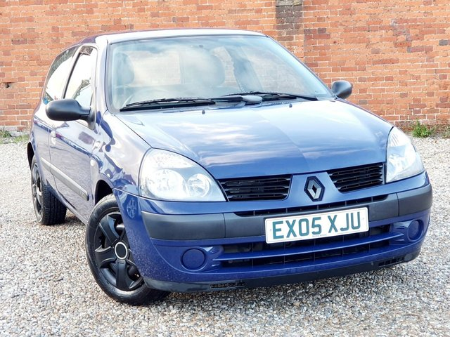 2005 05 RENAULT CLIO 1.1 AUTHENTIQUE 3DR