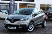 USED 2013 63 RENAULT CAPTUR 0.9 TCE DYNAMIQUE MEDIANAV ENERGY TCE S/S 5d 90 BHP FULL RENAULT MAIN DEALER HISTORY * £30 ROAD TAX * SAT-NAV *