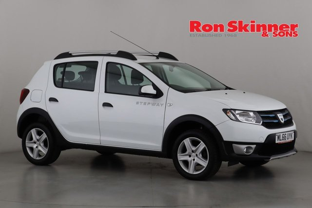 View our 2016 66 DACIA SANDERO 1.5 STEPWAY LAUREATE DCI 5d 90 BHP
