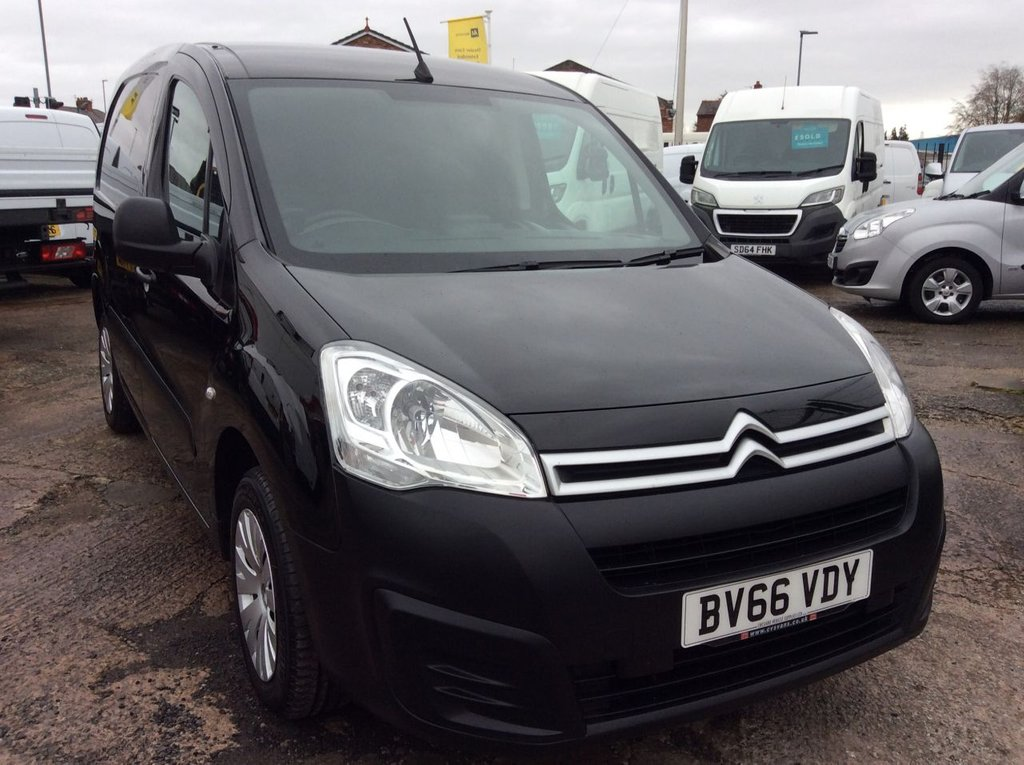 USED 2016 66 CITROEN BERLINGO 1.6 850 ENTERPRISE L1 BLUEHDI 98 BHP 1 OWNER FSH NEW MOT FREE 6 MONTHS AA WARRANTY INCLUDING RECOVERY AND ASSIST NEW MOT EURO 6 ROOF EXTRACTOR VENT 3 SEATS AIR CONDITIONING SATELLITE NAVIGATION SPARE KEY CRUISE CONTROL ELECTRIC WINDOWS AND MIRRORS REAR PARKING SENSORS