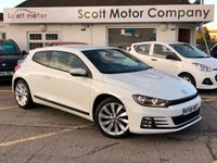 2016 VOLKSWAGEN SCIROCCO 2.0 GT TSI Bluemotion Technology DSG Automatic £14999.00