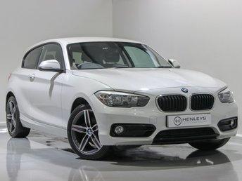 2016 BMW 1 SERIES 1.5 116D SPORT 3d 114 BHP £10990.00
