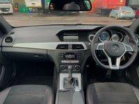 USED 2013 63 MERCEDES-BENZ C CLASS 2.1 C220 CDI AMG Sport Plus 7G-Tronic Plus 2dr AMGPack/SunRoof/FlatBottom/DAB