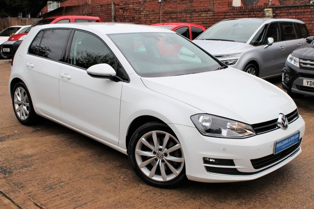 USED 2014 63 VOLKSWAGEN GOLF 1.4 GT TSI ACT BLUEMOTION TECHNOLOGY DSG AUTOMATIC 5d 138 BHP **** FULL SERVICE HISTORY * £20 ROAD TAX * SAT NAV * HEATED LEATHER SEATS ****