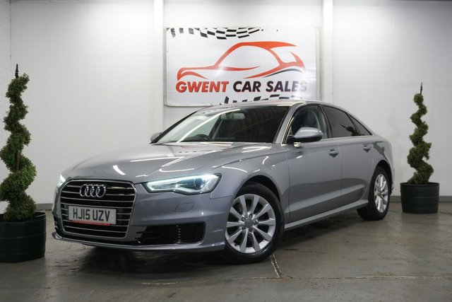 USED 2015 15 AUDI A6 2.0 TDI ULTRA SE 4d 188 BHP AMAZING EXAMPLE & DRIVE, HIGH SPEC